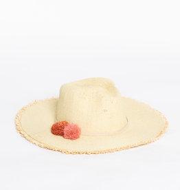 Hat Attack Sunrise Raffia Beachy Hat