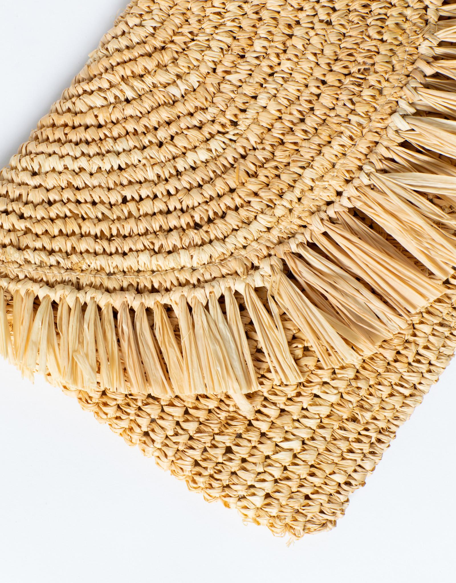 Hat Attack Natural Sunshine Clutch/Crossbody Bag