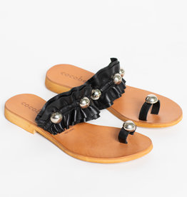 Cocobelle Black Abigail Sandals