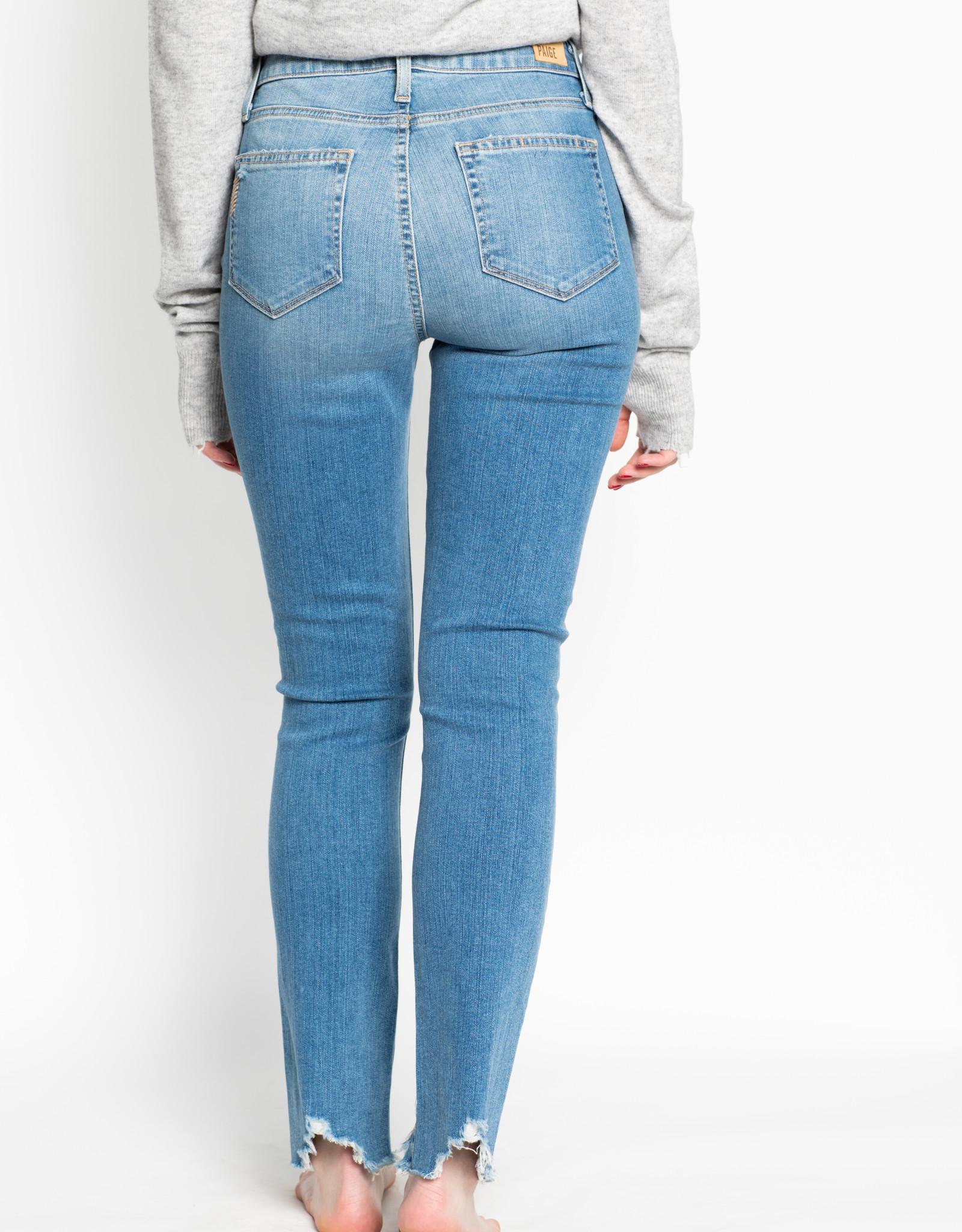 Paige Denim Janis Destructive Hoxton Ankle Peg Jeans