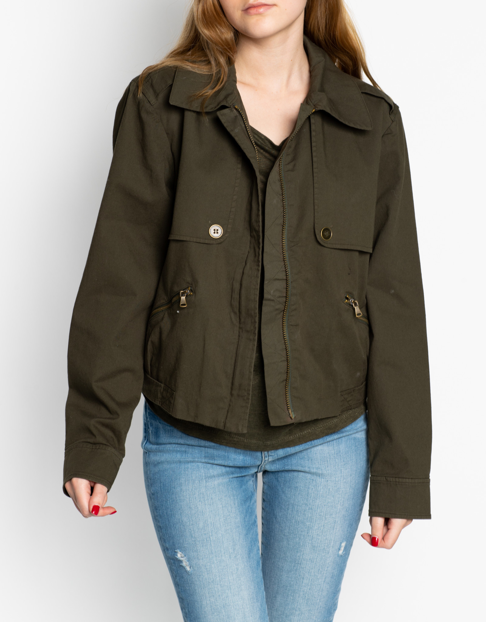 Paige Forest Night Aubree Jacket