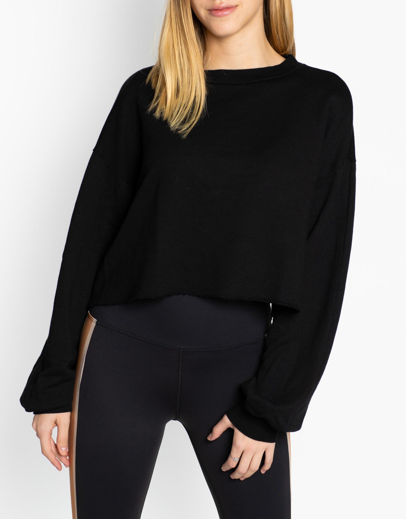 Beach Riot Black Ava Sweater