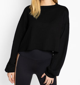 Beach Riot Black Ava Sweater