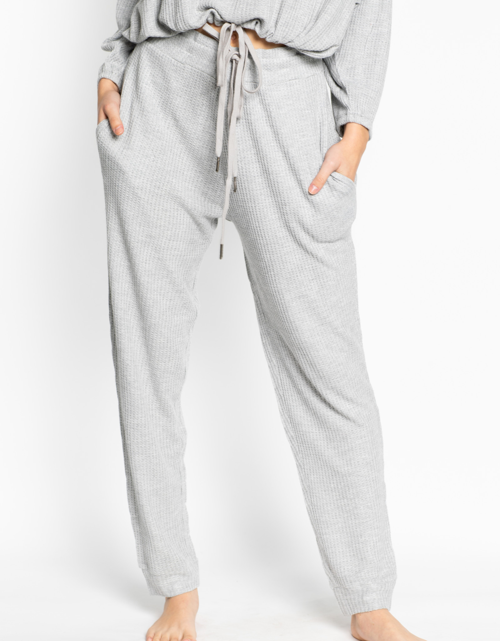 Lspace Heather Grey Venice Beach Pant