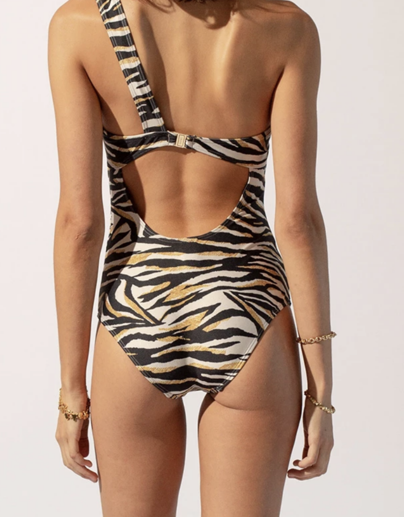 Suboo Multi Leila One Shoulder One Piece