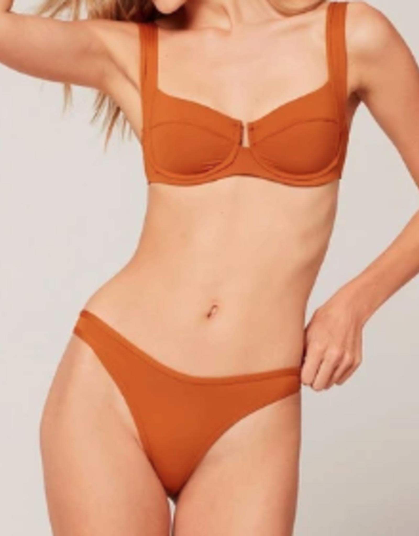 Lspace Hazelnut Camellia & Whiplash Bikini