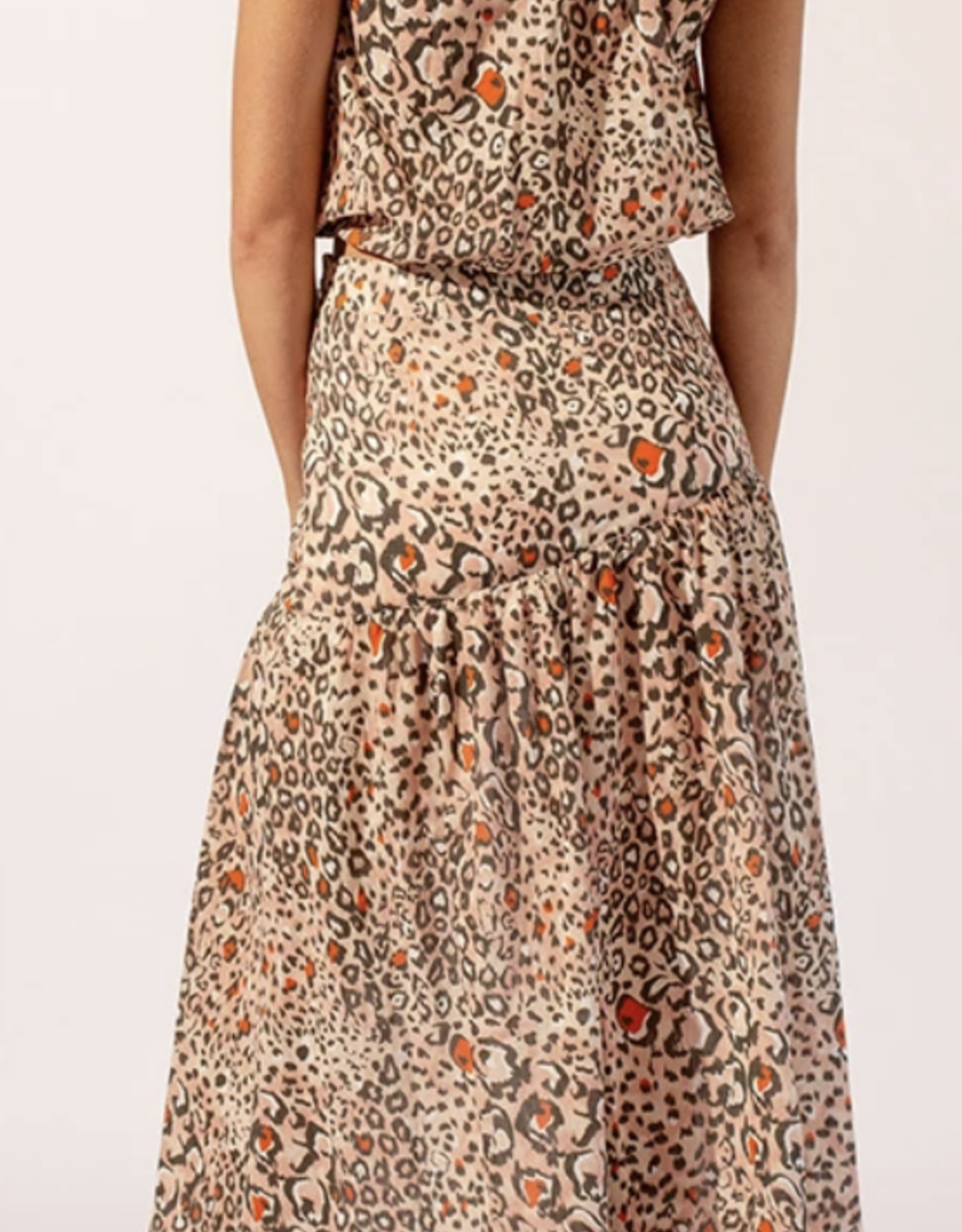 Suboo Pink/Multi Uma Top & Skirt