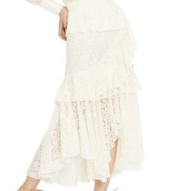 Misa Floral Lace Joseva Skirt