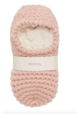 Eberjey Rose Smoke Ankle Slipper Sock