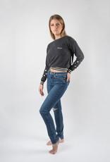 Paige Hoxton Addax Destructed Denim Ultra Skinny Jeans