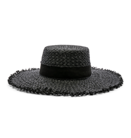 Lspace Black Jenny Hat