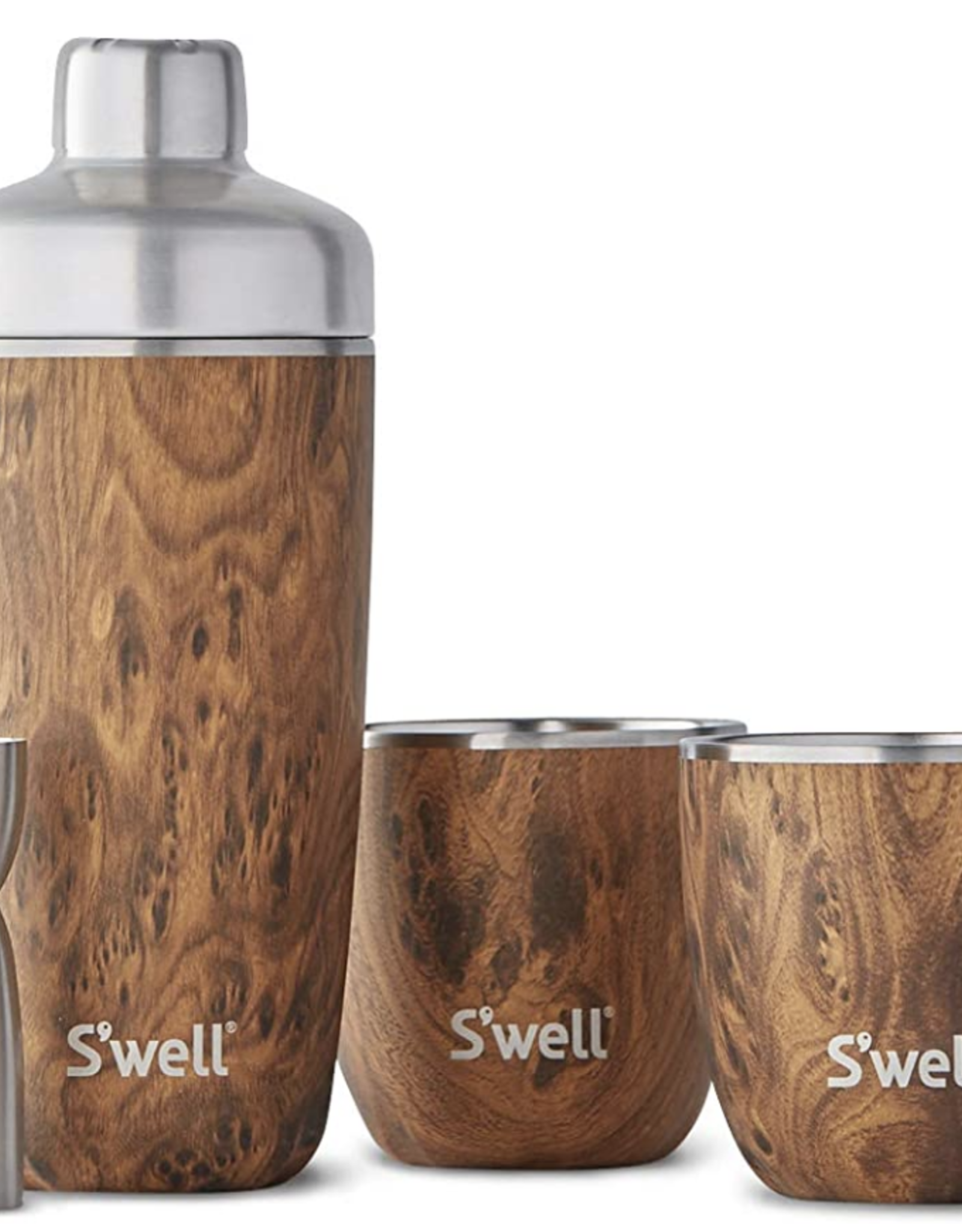 Swell Teakwood Cocktail Kit