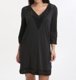Gottex Black Prism blouse