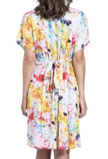Gottex Multi Yellow Aquarelle Dress