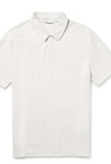 Onia Solid White Alec Polo