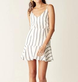 Suboo Eden Stripe Tie Back Mini Dress