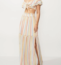 Suboo Multi Playhouse Crop Top & Maxi Skirt