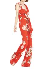Misa Poppy Floral Kimora Jumpsuit