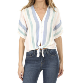Rails Pastel Watercolor Stripe Thea Shirt