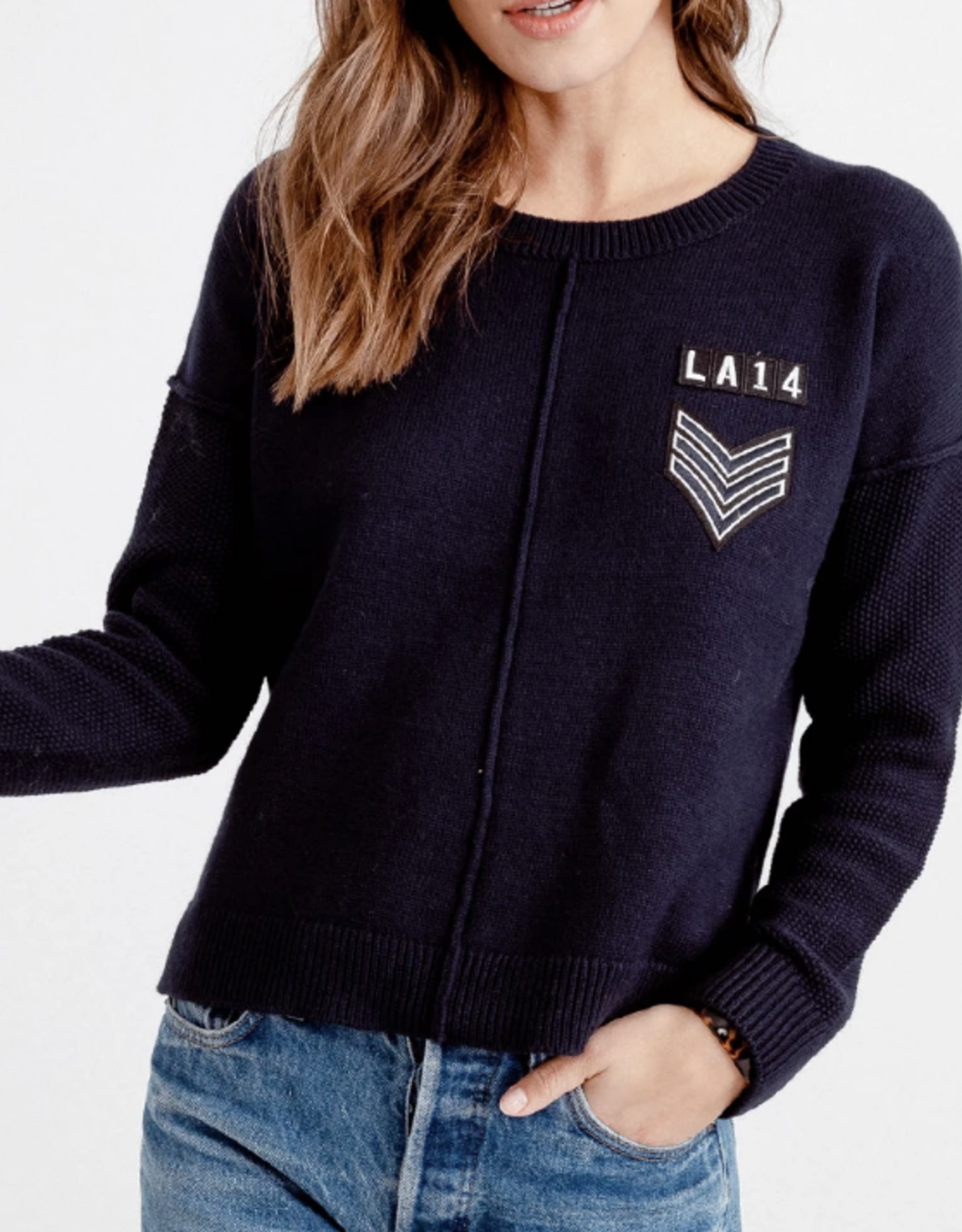 Rails Navy Standfford Sweater