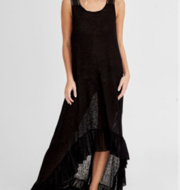 Pitusa Black Inca Basic Dress