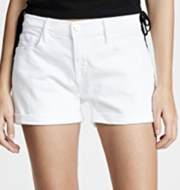 Frame Blanc Le Cut Off Cuffed Short