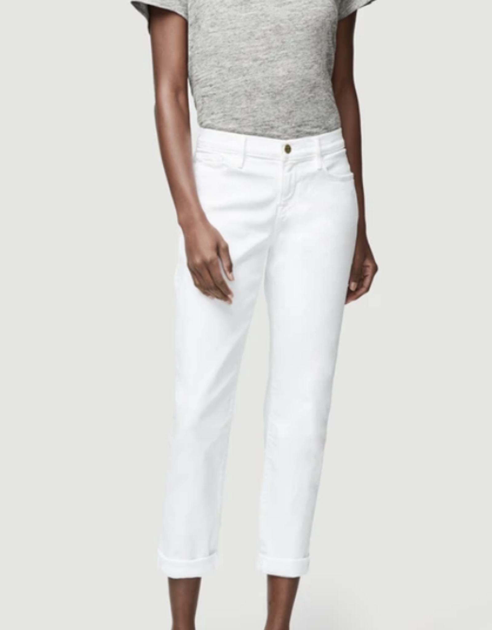 Frame Blanc Le Garcon Jeans
