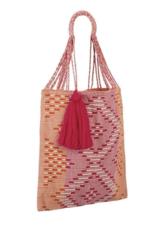 Nannacay Orange/Pink/Natural Bianca Bag
