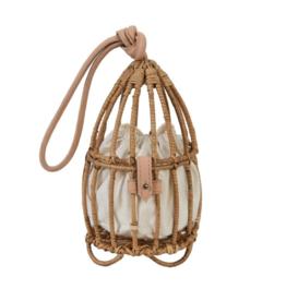 Nannacay Natural Inga Cage Bag