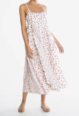 Peony Soiree Ruffle Dress