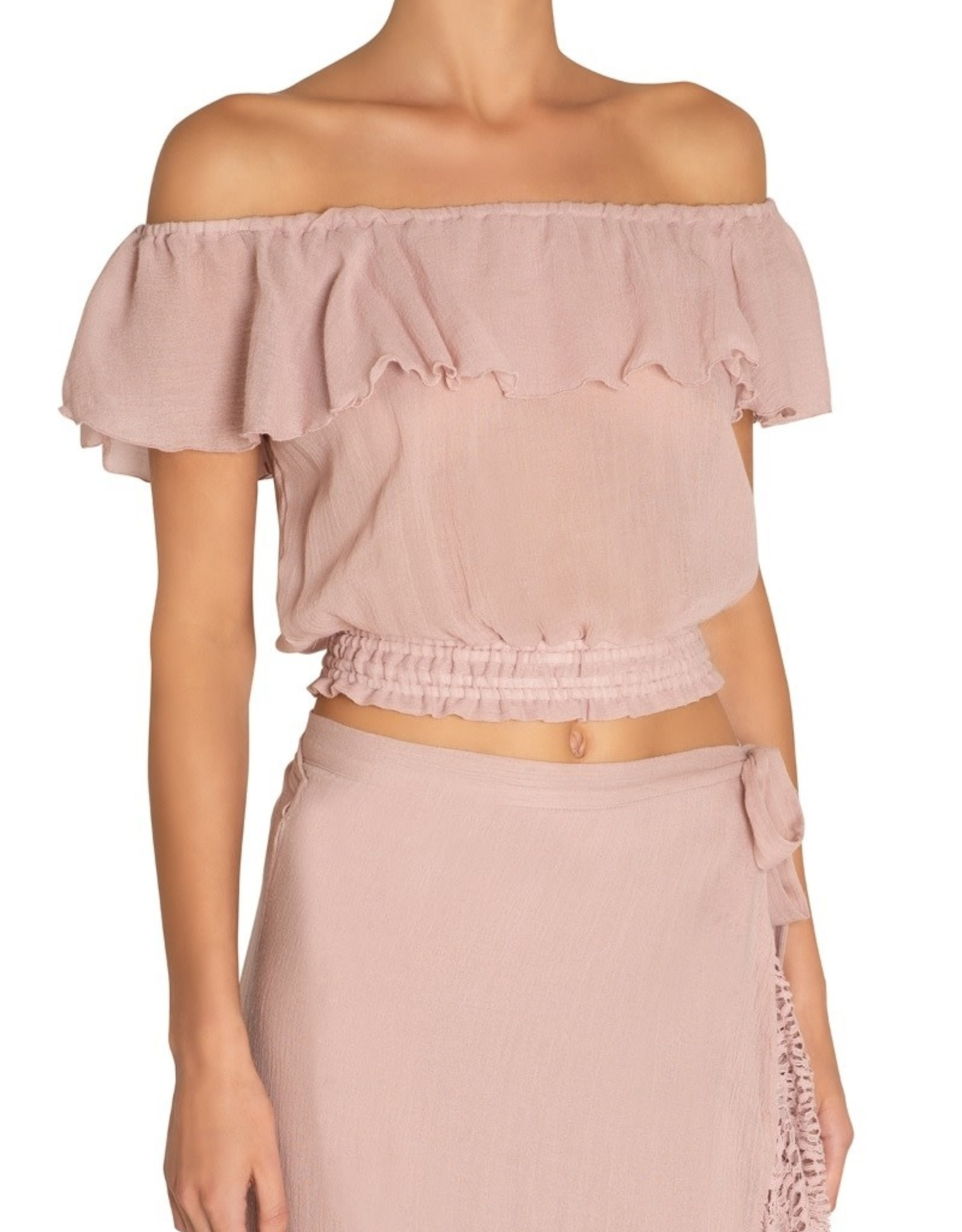 Eberjey Cashiemere Rose End Of Summer Marcia Top