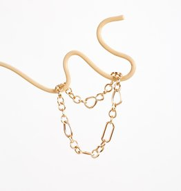 Cult Gaia Brass Ziba Chain Choker