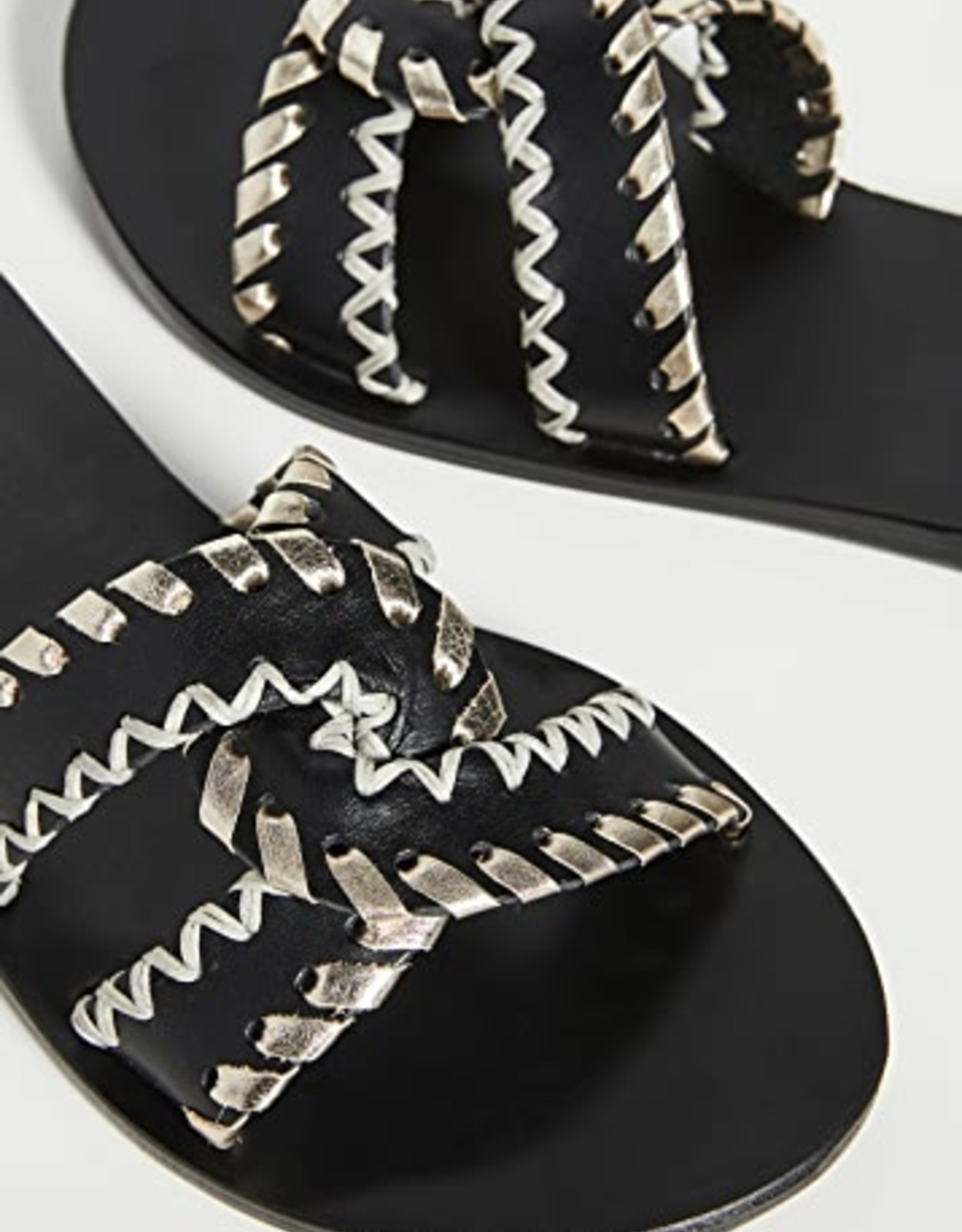Ancient Greek Black/Platinum Desmos Stitch