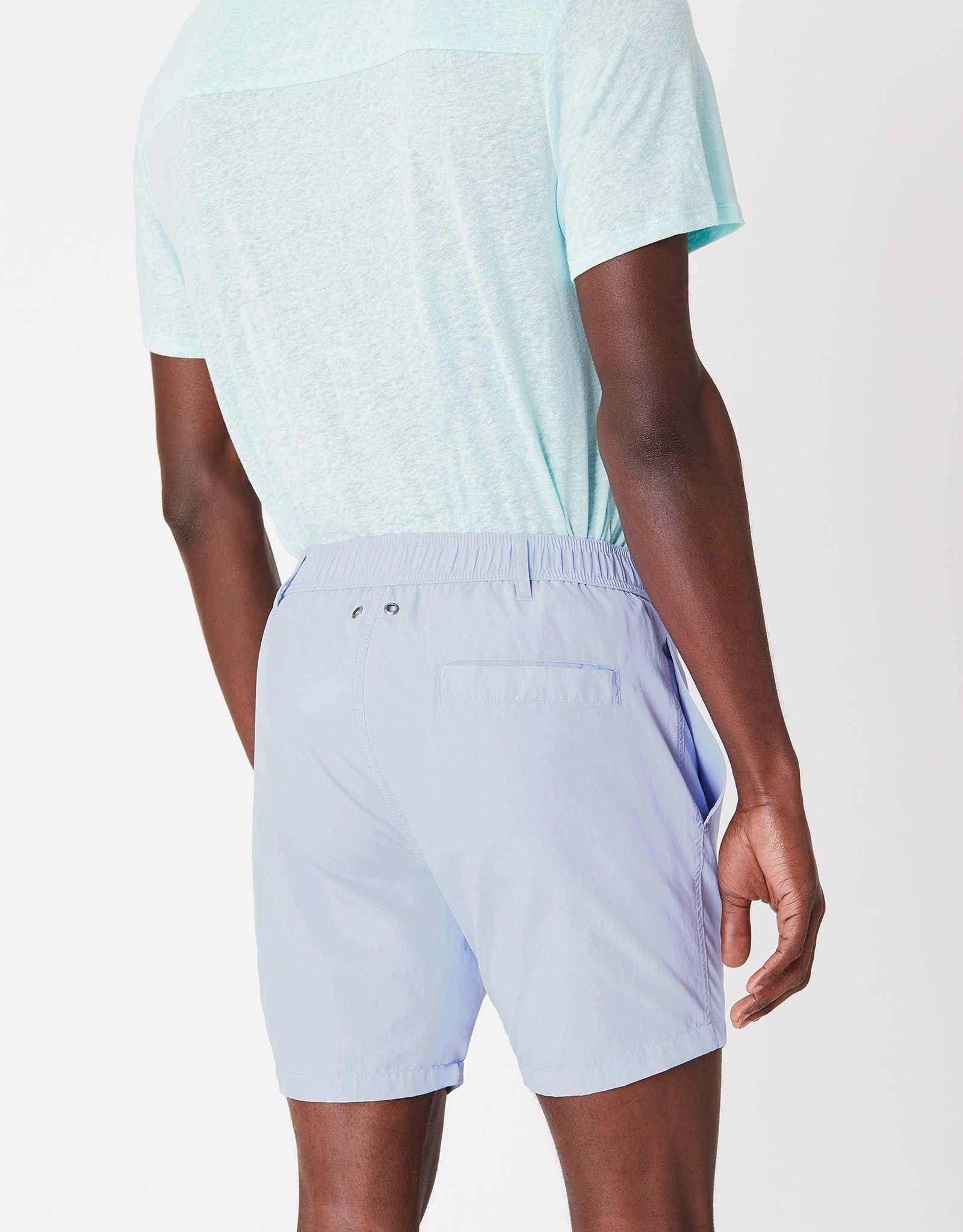 Onia Solid Cerulean Short