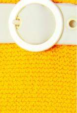Solid & Striped Sunkist Orange The Rachel Belt Bikini