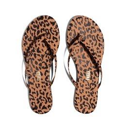Tkees Studio Exotics Cheetah Sandals