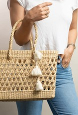 Hat Attack Freedom Tote Natural OS