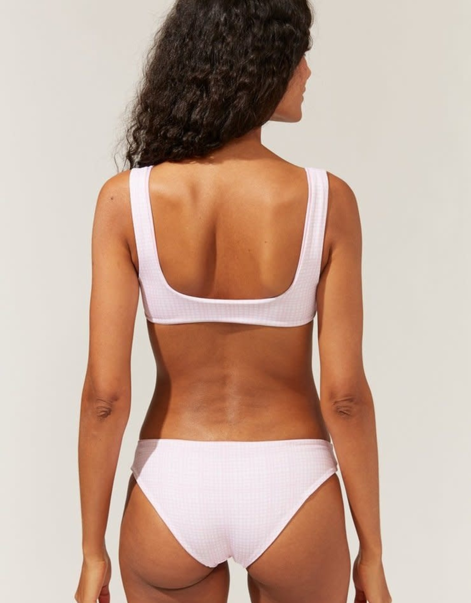 Solid & Striped Elle Bikini Reverse Mini Grid