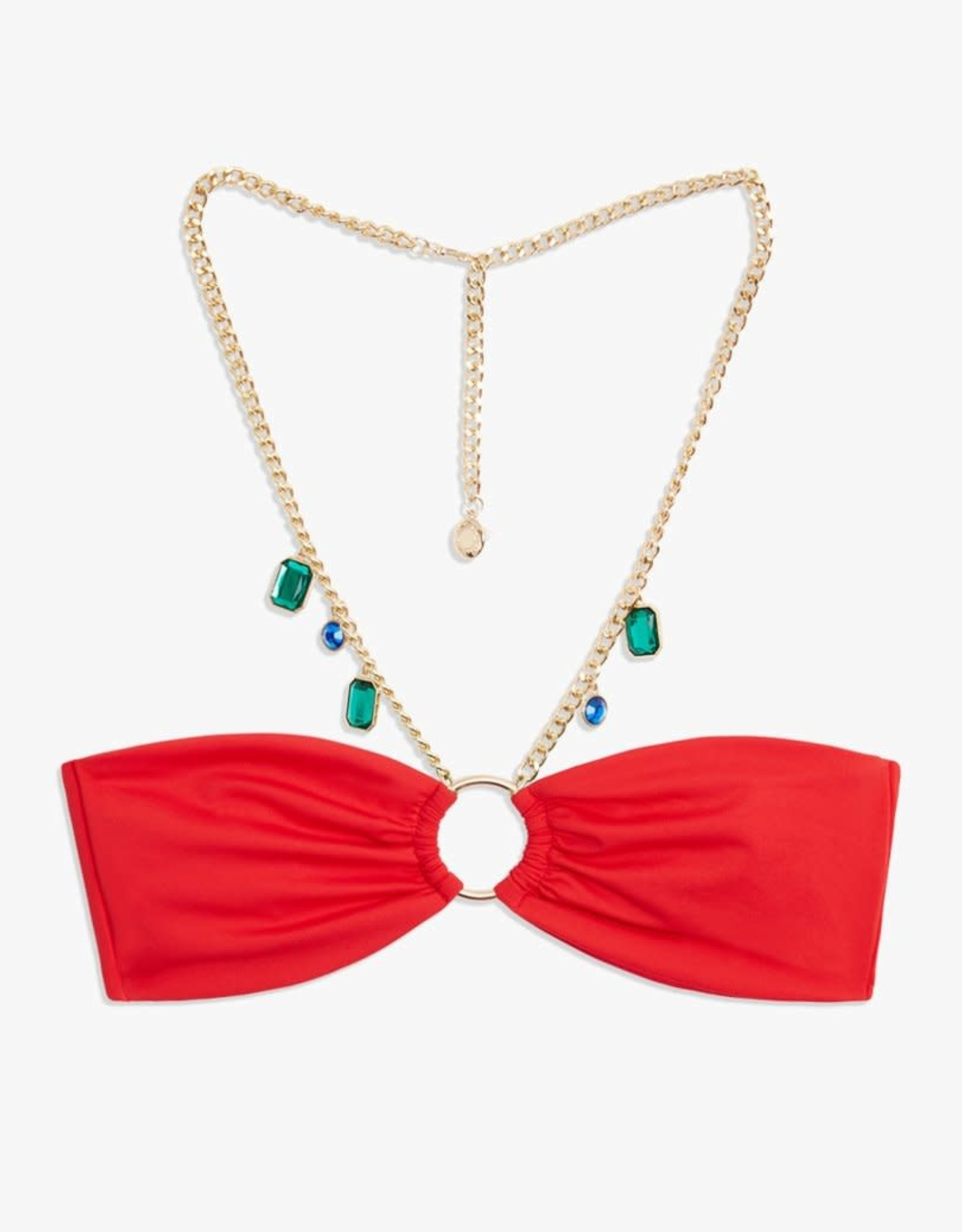 We Wore What Necklace Belted Ruby