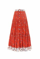 Paolita Efterpe Button Maxi Skirt SMALL