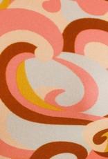 Zimmermann Mae Buckle Shoulder One Piece Swirl