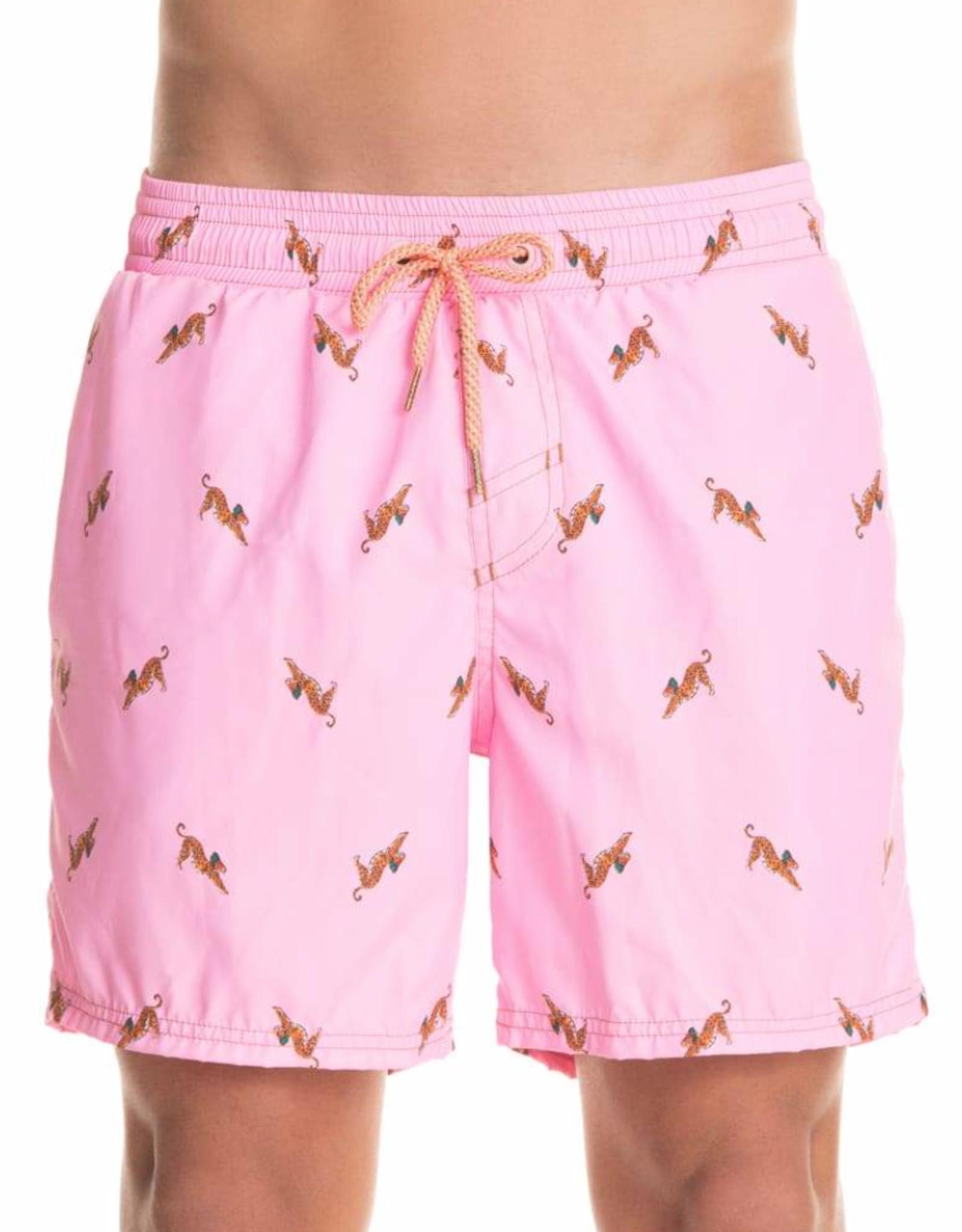 Maaji Men Sporty Short Pink Bengal