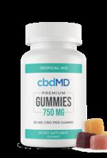Be Organics CBDMD 30 Oil Gummies 750mg