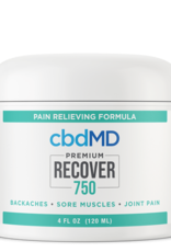 Be Organics CBDMD Recover Pain Relieving Formula 4oz 750mg