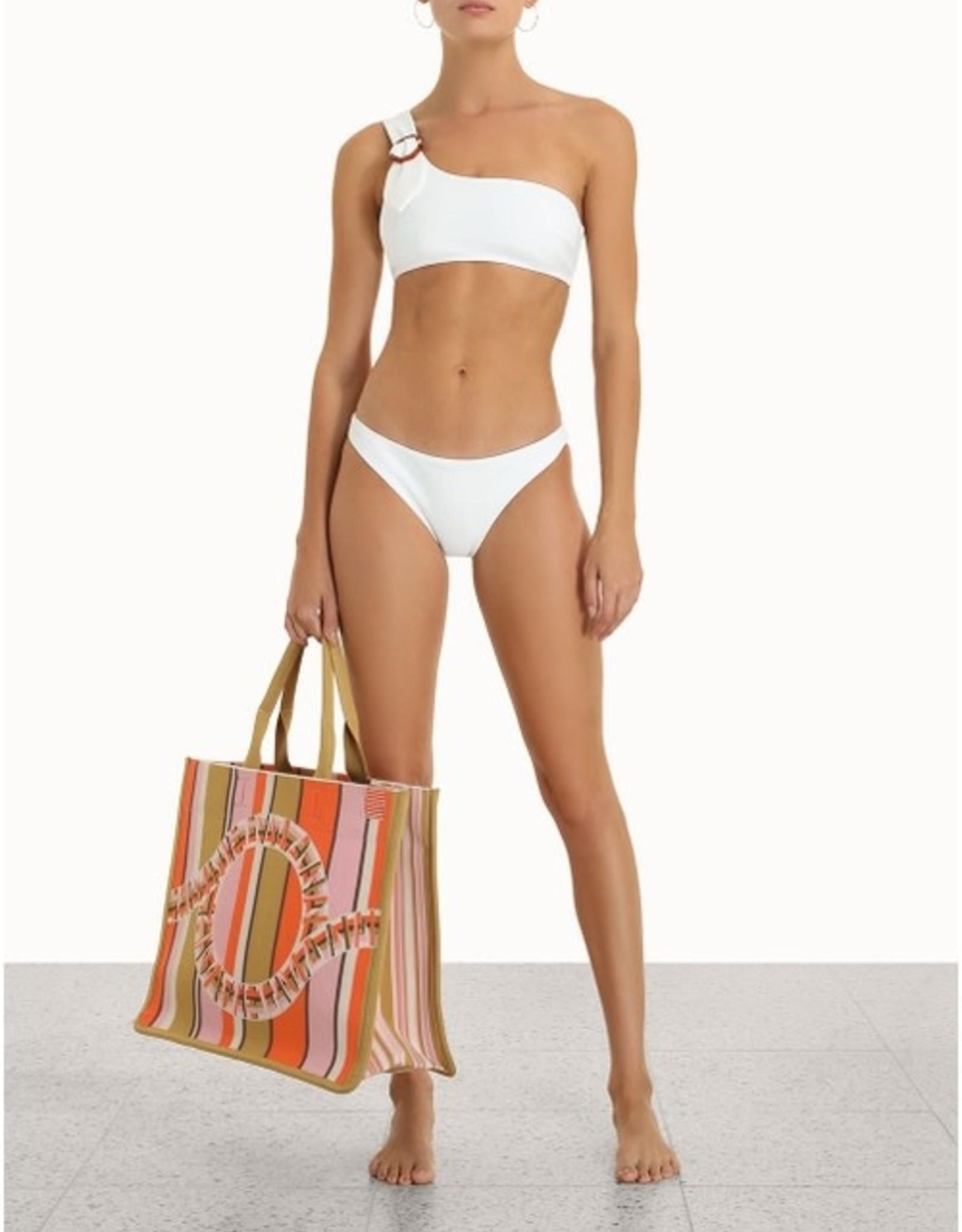Zimmermann Teddy Buckle Ivory Bikini