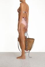 Zimmermann Cassia Balconette Bra & High Waisted Pant Musk Floral