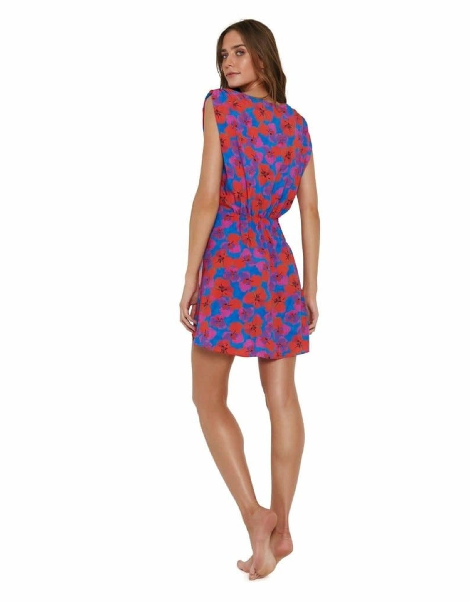 Vix Mabel Gisele Short Caftan Dress
