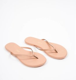 Tkees Studio Scalloped Sophie Nude Sandals