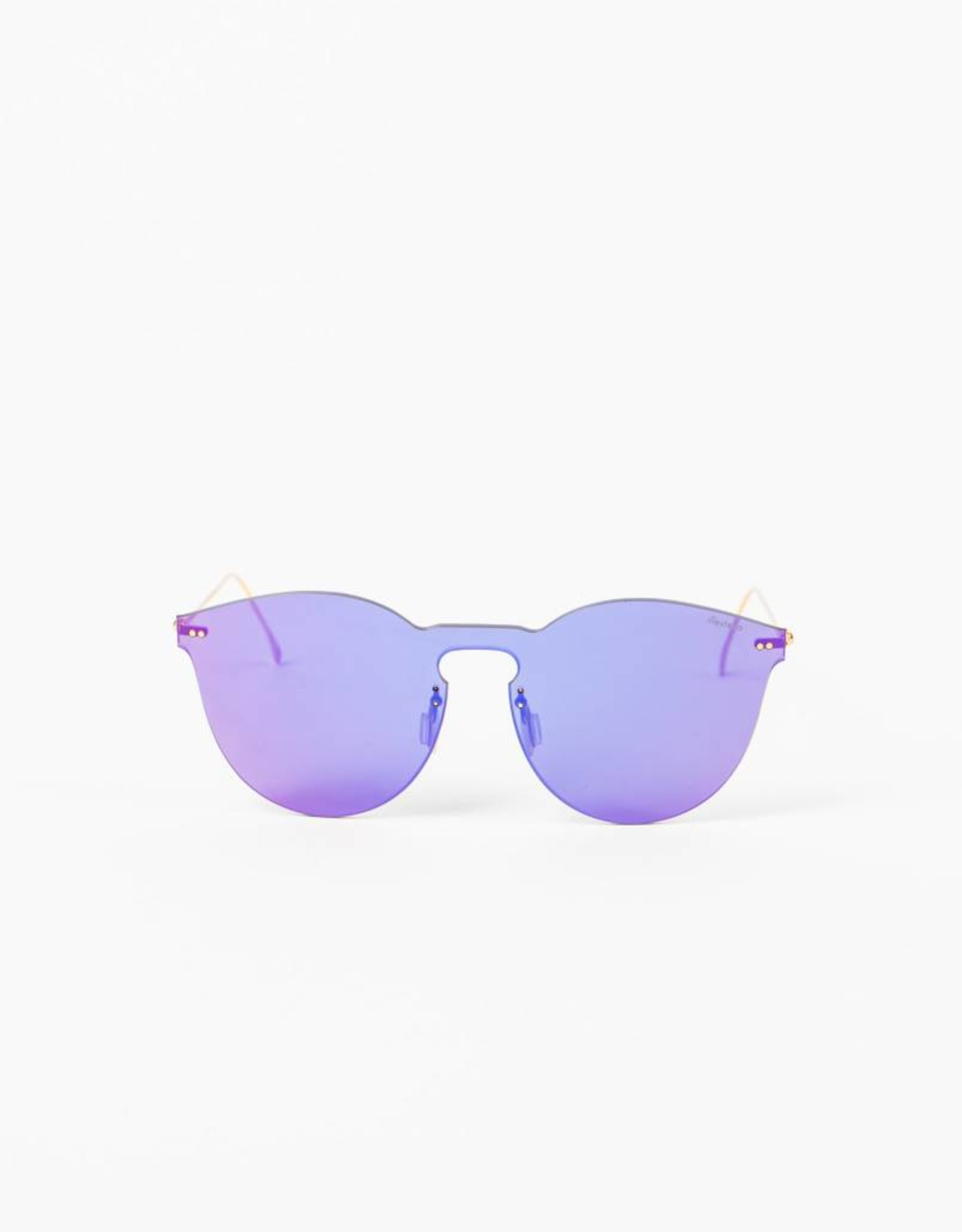Illesteva Leonard II Mask Purple Berry Sunglasses