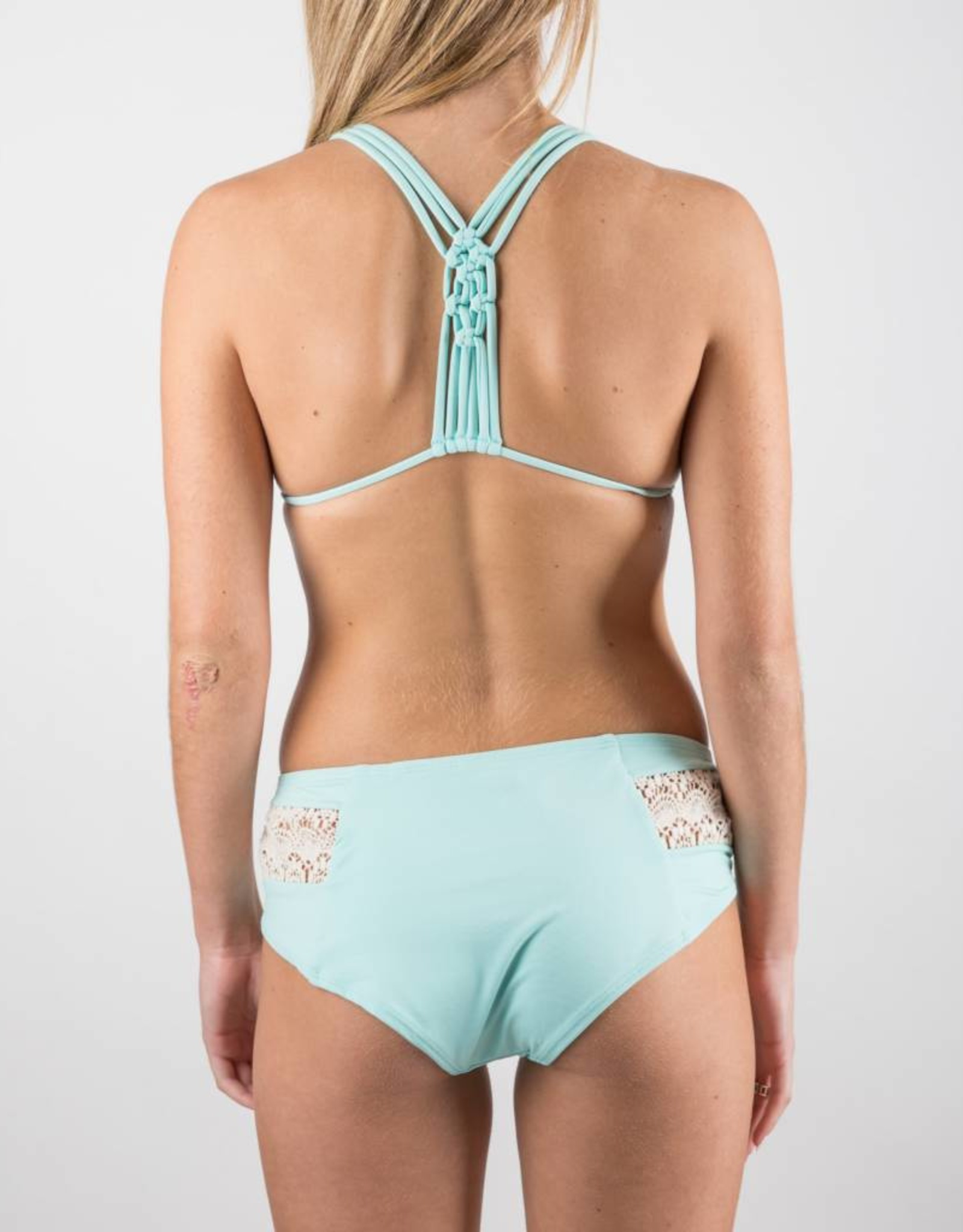 LSpace Solid Seaglass Sweet and Chic Bikini